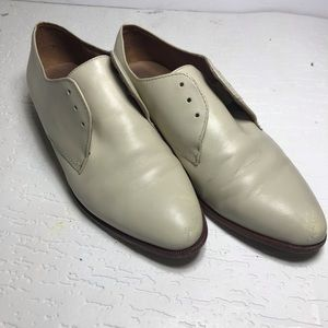 Madewell leather shoes flat loafers  lace up
